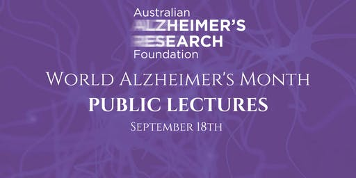 Public Lectures - Alzheimer's Research Update