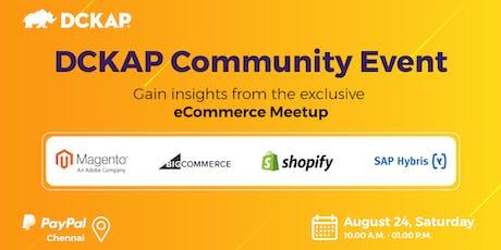 DCKAP Community Event - an eCommerce Meetup tickets