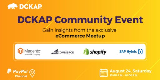 DCKAP Community Event - an eCommerce Meetup