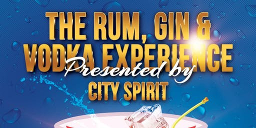 The Rum, Gin & Vodka Experience