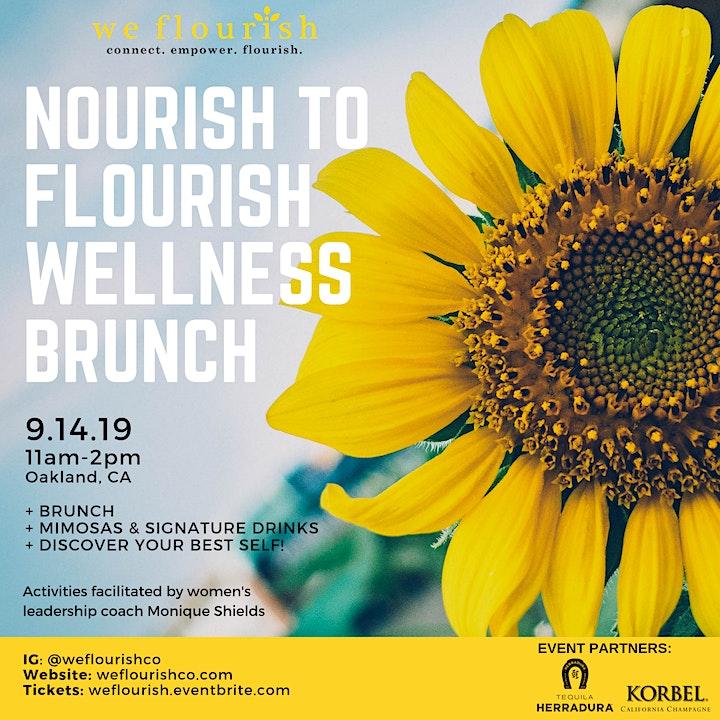 Nourish to Flourish Wellness Brunch image