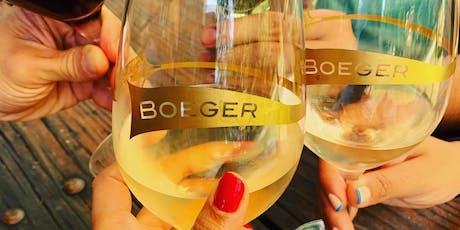 Boeger Wine Dinner at C. Knight's  tickets