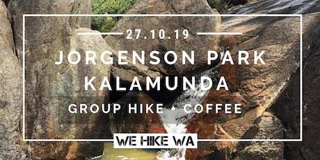 Jorgenson Park Group Hike & Coffee at Mason + Bird tickets