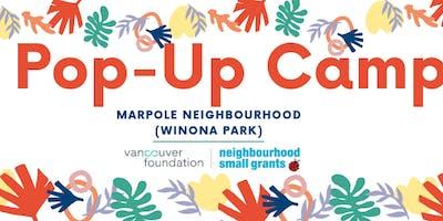 Marpole Pop-Up Camp