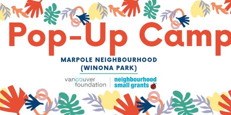 Marpole Pop-Up Camp tickets