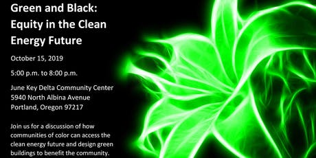 Green and Black: Equity in the Clean Energy Future tickets