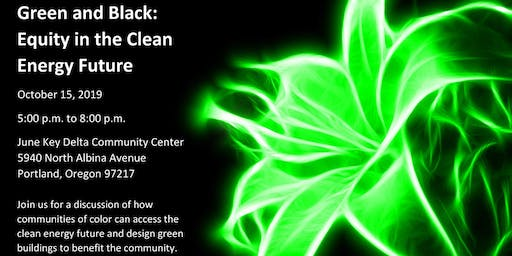 Green and Black: Equity in the Clean Energy Future