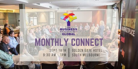The Business Marketplace Monthly Connect September tickets