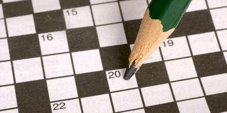 Cryptic Crosswords with David Astle tickets