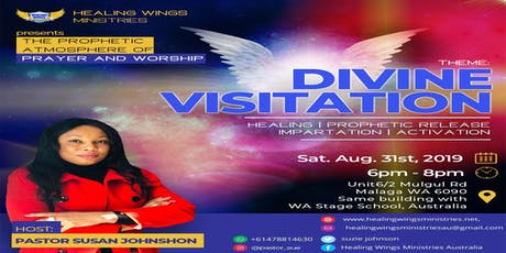 THE PROPHETIC ATMOSPHERE OF PRAYER AND WORSHIP tickets