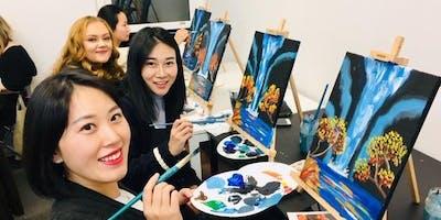 'Waterfall' Sip & Paint Workshop
