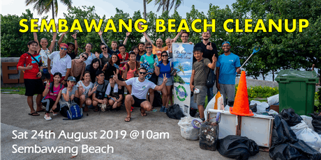 Beach cleanup at Sembawang, Singapore tickets
