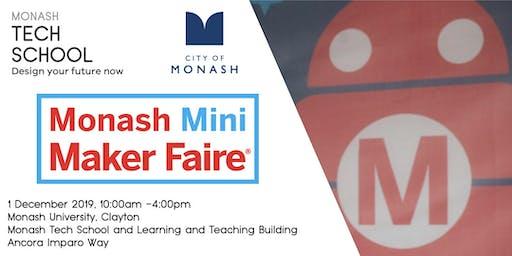 Monash Mini Maker Faire - Attendee Registration