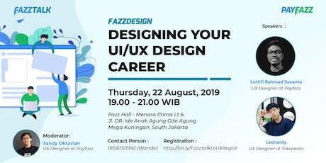 Designing your UI/UX Design Career tickets