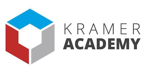 Kramer Control Associate Level Training - Bangalore