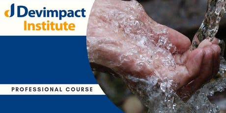Training on GIS for Water Sanitation and Hygiene tickets