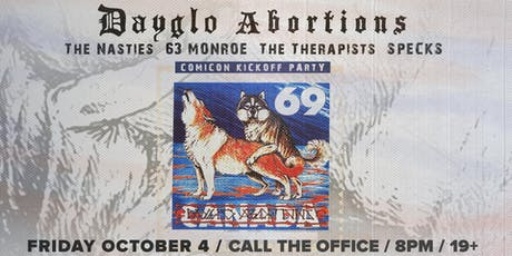 Dayglo Abortions tickets