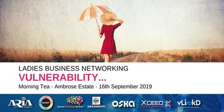 District32 Ladies Business Networking - Vulnerability - Mon 16th Sept tickets