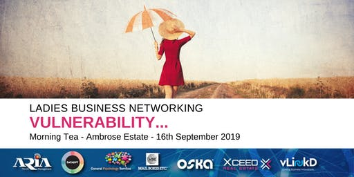 District32 Ladies Business Networking - Vulnerability - Mon 16th Sept