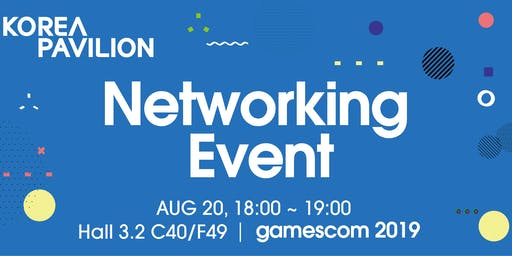 Korea Pavilion Networking Event at gamescom 2019