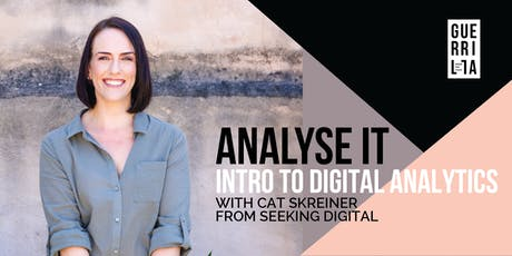 ANALYSE IT : Intro to digital analytics tickets