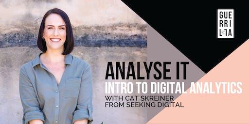 ANALYSE IT : Intro to digital analytics