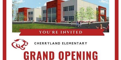 Cherryland Elementary Grand Opening tickets