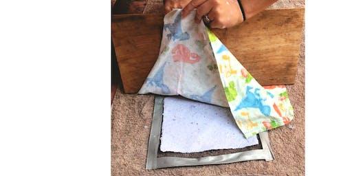 Paper Making Workshop with Deborah Worthy-Collins