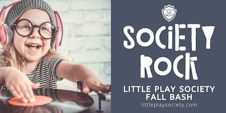 Society Rock: Little Play Society Fall Bash! tickets