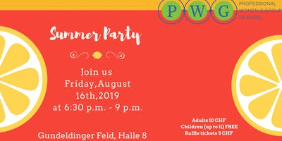 PWG Summer Party