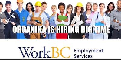 Organika Health Products Inc. is hiring Talents
