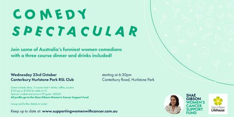 Comedy Spectacular Dinner tickets