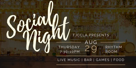 Social Night with TJCCLA tickets