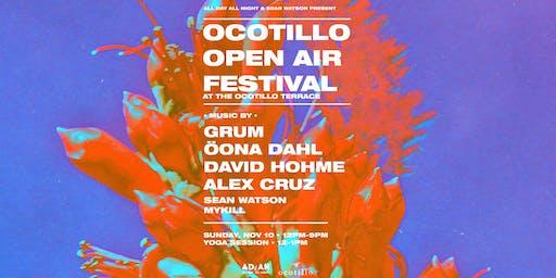 Ocotillo Open Air Festival | 11.10.19