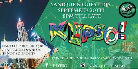 K'Lypso! Carnaval Rooftop Dance Party tickets