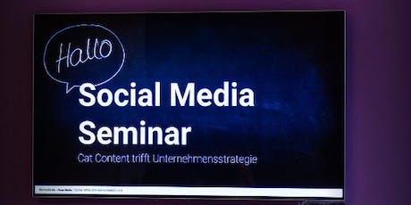 Social Media Lunch Seminar Tickets