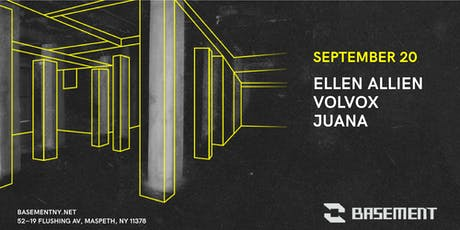 Ellen Allien / Volvox / Juana tickets