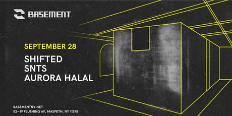 Shifted / SNTS / Aurora Halal tickets