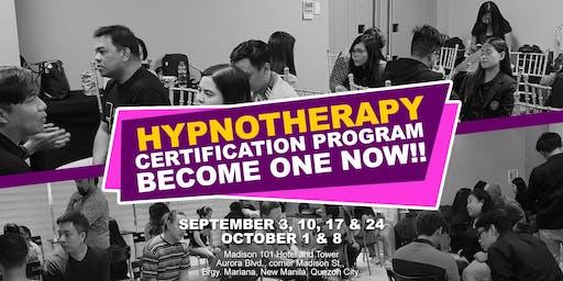 Hypnotherapy Certification Program