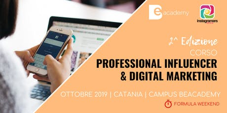 Corso Professional Influencer & Digital Marketing biglietti