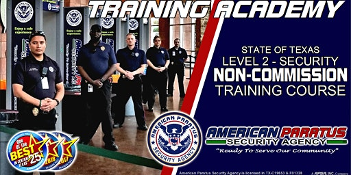 Killeen, TX / Level 2 - Security Non-Commission Course