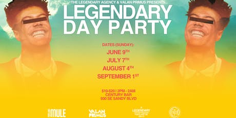 Legendary Day Party: The Grande Finale tickets