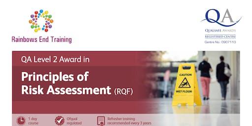 QA L2 Award in Principles of Risk Assessment (RQF)