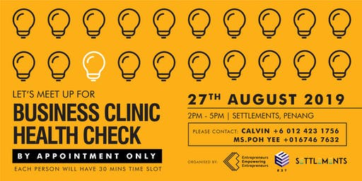 Business Clinic Health Check (AUG PG)