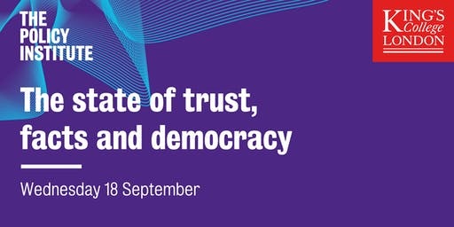 The state of trust, facts and democracy