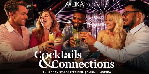 Cocktails and Connections at Aveika