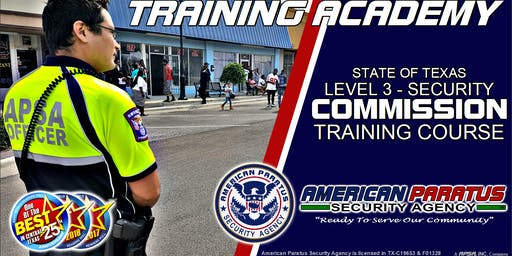 Killeen, TX / Level 3 - Security Commission Course
