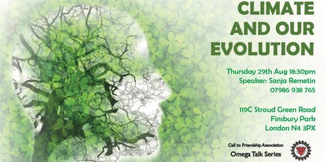 Climate and Our Evolution tickets
