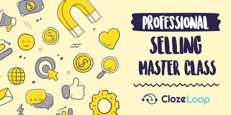 Professional Selling Master Class tickets