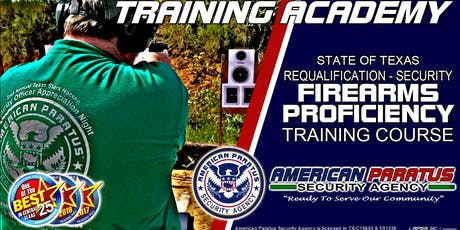 Killeen, TX / Requalification - Security Firearms Proficiency tickets